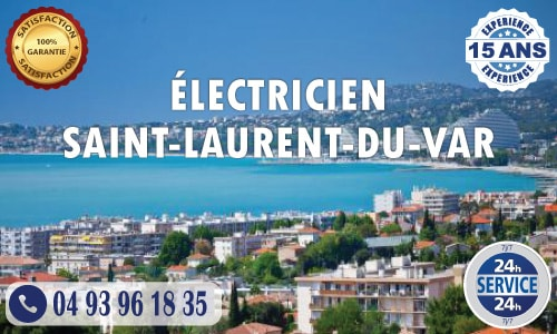Electricien Saint-Laurent-du-Var